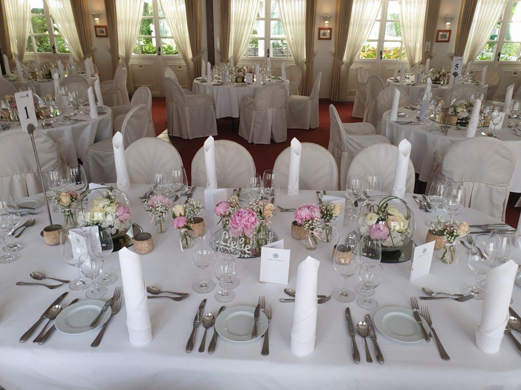 Suite Hochzeitstisch